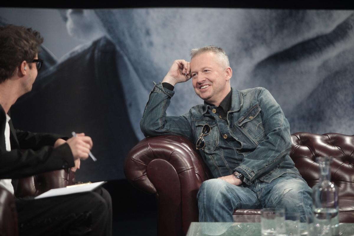 Bogusław Linda i Kuba Wojewódzki