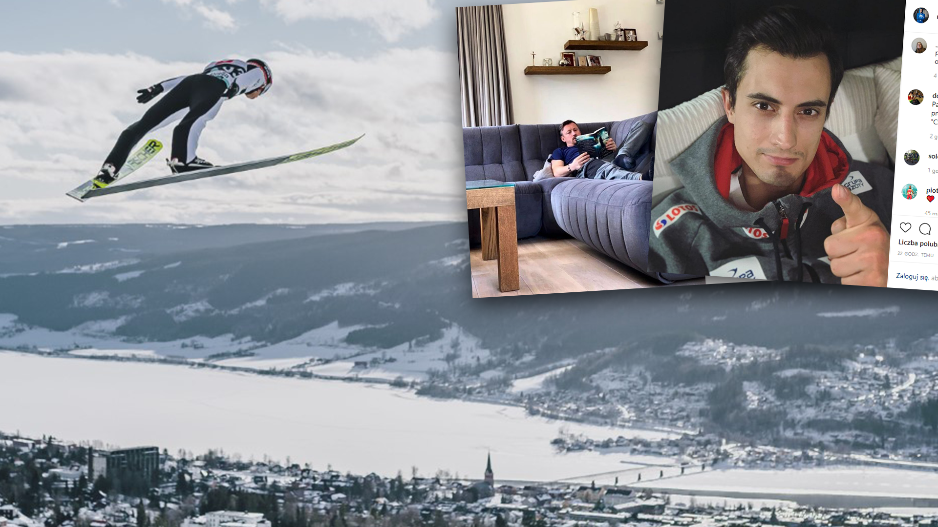 Skoki narciarskie Adam Małysz i Maciej Kot namawiają do